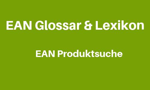 EAN Produktsuche